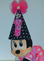 Mouse  birthday shirt  tutu with  boutique birthday hat. Minnie Mouse par - $55.99
