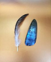 Labradorite Quartz Stone Spellbound By Dovemacob Intuition, Chakra, Reik... - $36.00