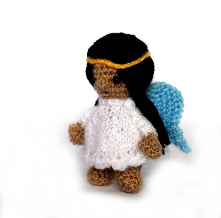 Amigurumi Angel Doll : crochet ANGEL, little amigurumi angel doll, stuffed angel ...