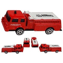 Wholesale lot of 144  1/64  Emergency Fire Truck - Promotional Your Logo... - $508.05