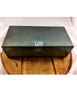 Vintage Combination Lock Banker's Vault Box Saf... - $29.02