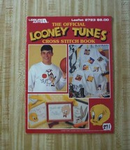 Cross Stitch Book LOONEY TUNES Bugs Daffy Sylvester Road Taz Porky Fogho... - $3.47