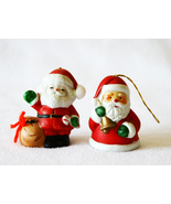 Santa Christmas Bells Vintage Collectible Lot o... - $7.99