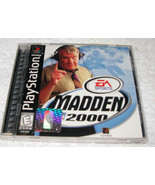 Madden NFL 2000 Sony PlayStation 1, 1999, E - Everyone, Free Shipping U.... - $7.68