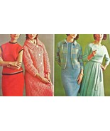 Vtg 60s KNITTING Bookk~Mohair COATS+DRESSES+SWE... - $12.86