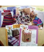 5 Annie's SCRAP CROCHET CLUB Ptns~Tissue Cover+... - $9.89