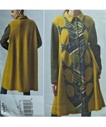 VOGUE Sew Pattern 1331~Artsy COAT~6-8-10-12-14~... - $14.84