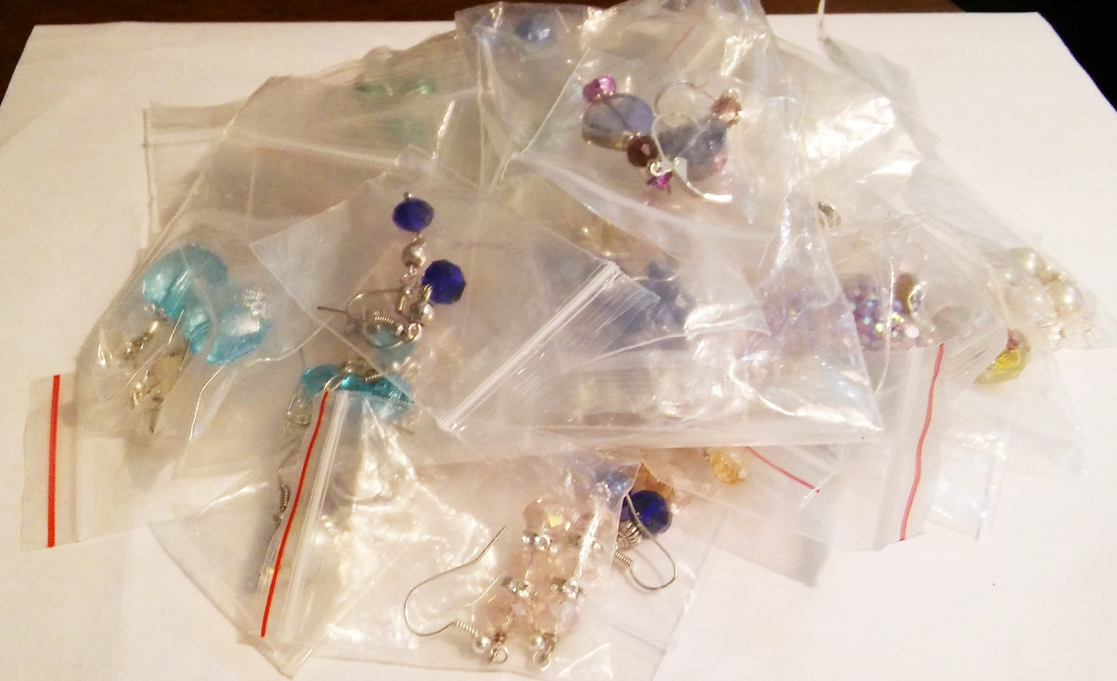 Soup Mix Lot Of 25 Pairs of Handmade Fashion Earrings Makes Great Gifts