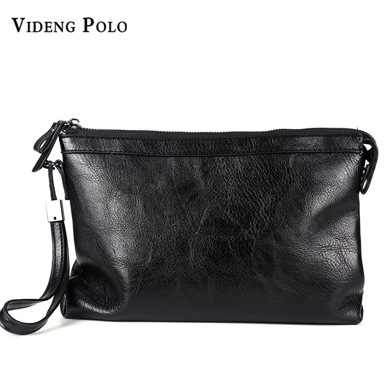 873d543388123 Ideng polo men wallet 2017 new brand leather men clutch bag casual large  capacity purse business