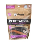 Pegetables Nature's Dog Chew Dog Treat Small 15... - $9.73