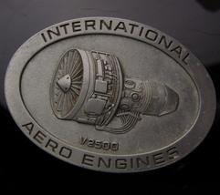 Aero Engines aviation Buckle - mens international v2500 motor -  Airbus ... - $70.00