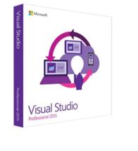Visual Studio Professional Pro 2015 32/64-bit (English) - $199.95+