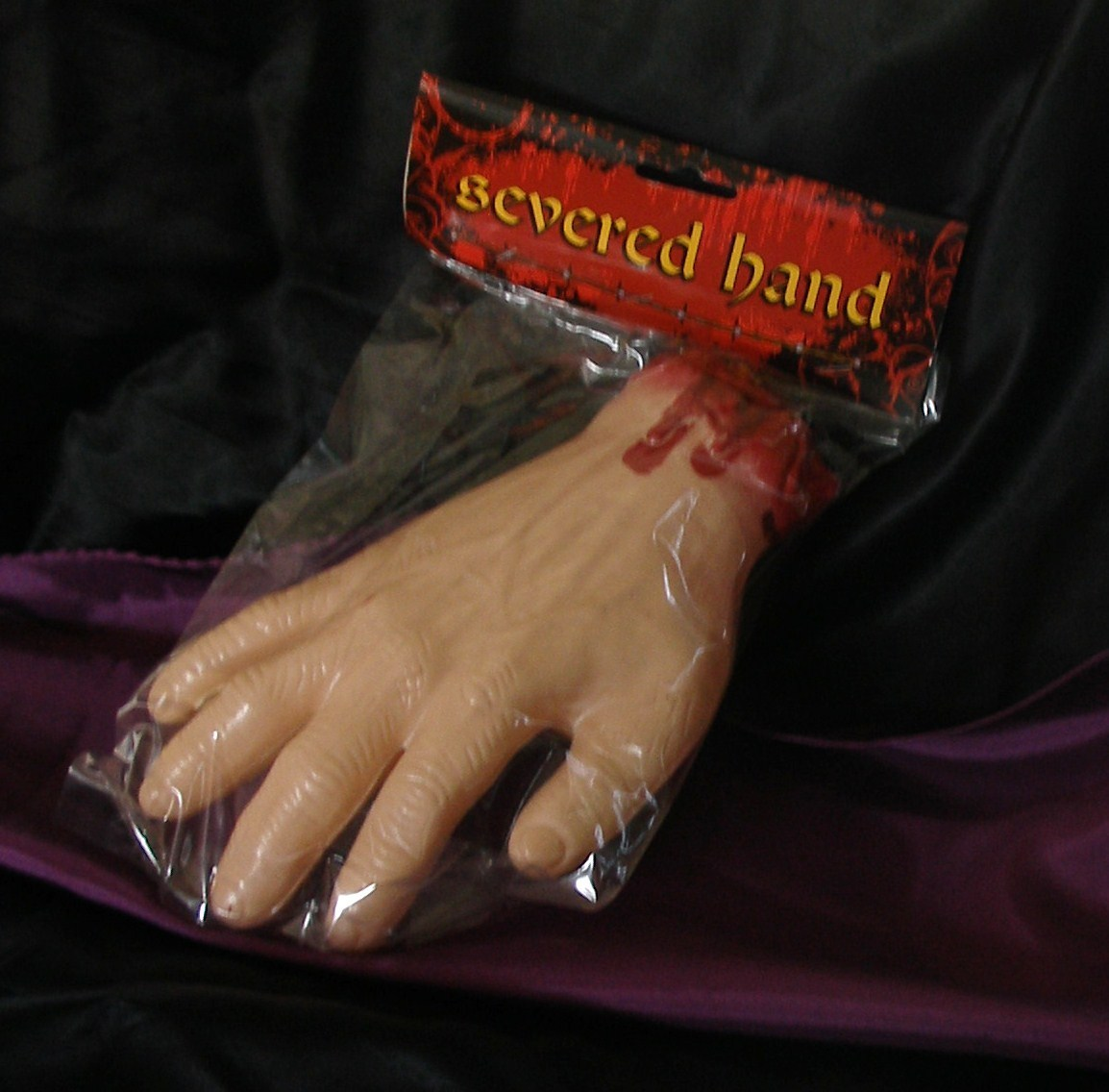 Primary image for NIP Body Part Bloody Severed Hand Horror Halloween Prop Costume Party Favor