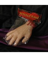 NIP Body Part Bloody Severed Hand Horror Halloween Prop Costume Party Fa... - $7.49