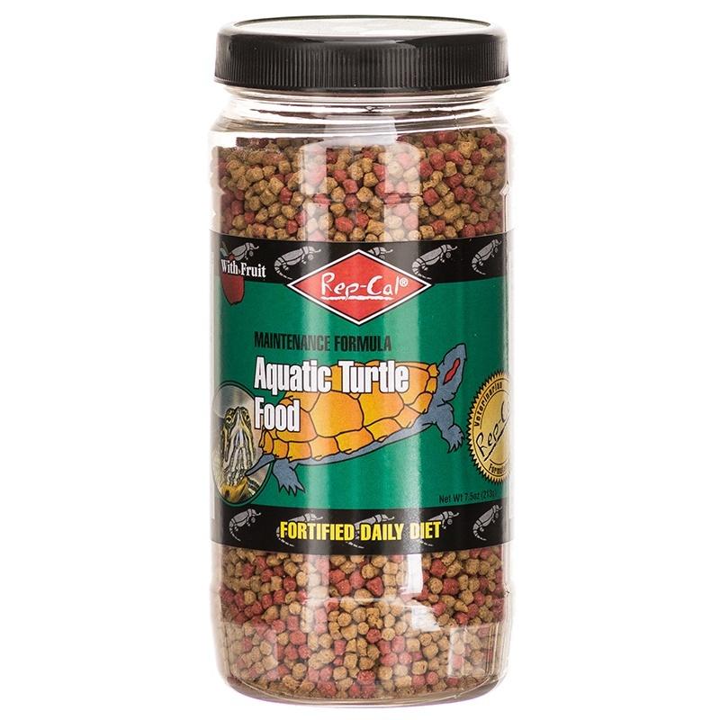 Rep-Cal Aquatic Turtle Food Maintenence 7.5 ounce - Reptile Supplies