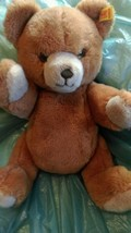 "Steiff 1980's Petsy Bear 14"" Plush, Jointed/Art... - $46.75"