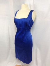 NEW CALVIN KLEIN ROYAL BLUE WITH WRAP  SHEATH COCKTAIL  DRESS SZ 12 - $37.39