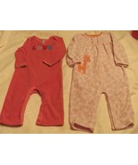 TODDLER Two 18 MOS 1 PIECE SLEEPWEAR-SNAP CROTC... - $3.95