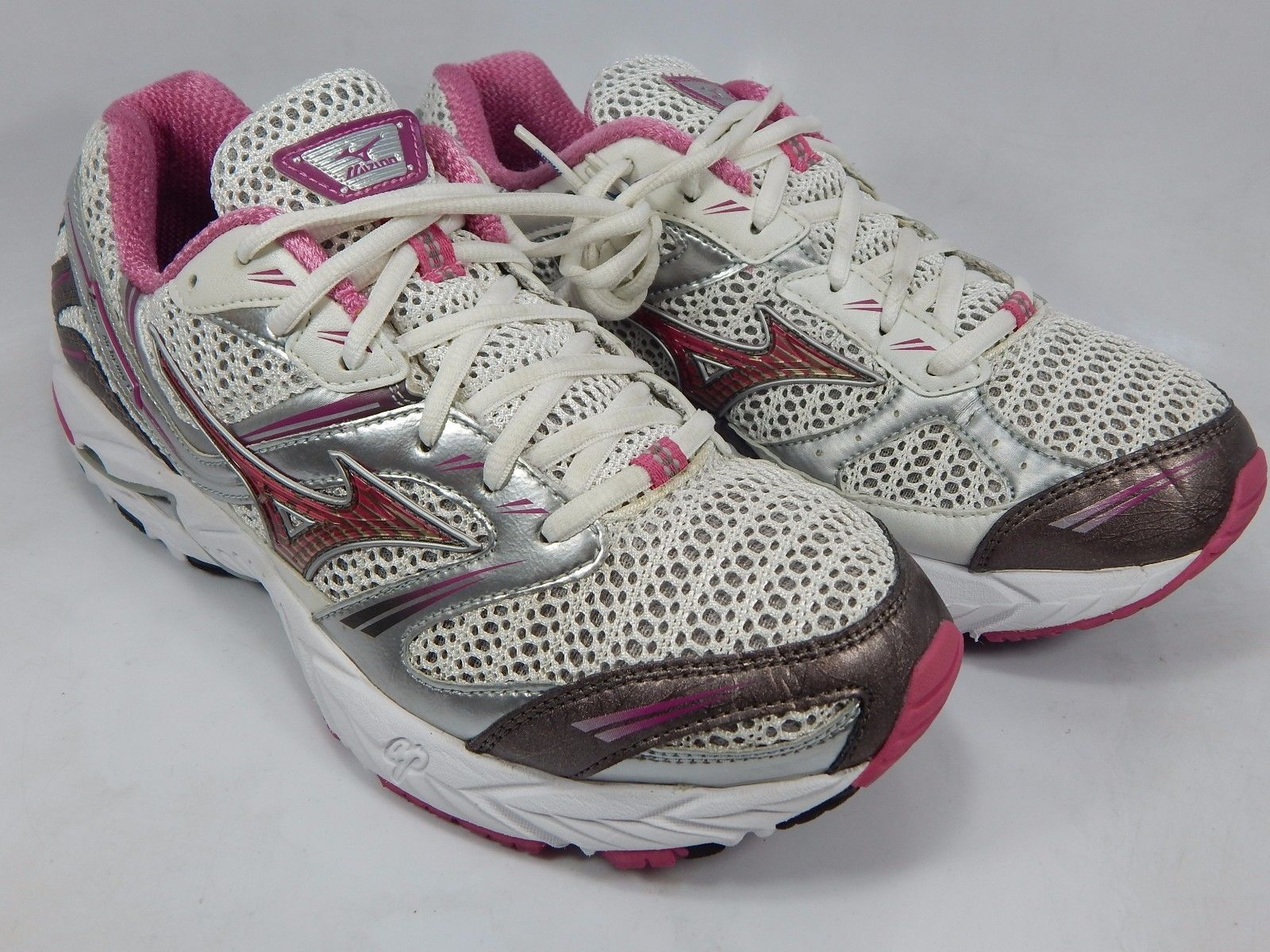 Mizuno Wave Alchemy 8 Women's Running Shoes Size US 9.5 M (B) EU 40.5 White Pink