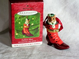 Hallmark Keepsake Ornament Fashion Afoot 1st in series  QX8341 Dated 2000 - $14.95