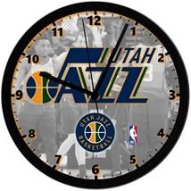 "Utah Jazz LOGO Homemade 8"" NBA Wall Clock w/ Battery Included - $23.97"