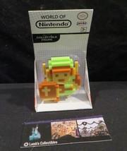 "8 bit Link green tunic World of Nintendo white box 2.5"" figure Jakks Pac... - $13.71"