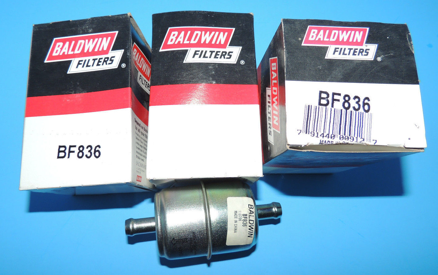 New Baldwin Bf836 Heavy Duty Fuel Filter Lot And 16 Similar Items Housing S L1600