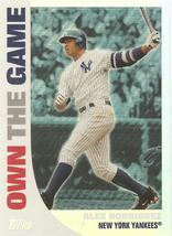 Alex Rodriguez Topps 2008 #OTG11 Own the Game New York Yankees Texas Rangers - $1.25