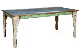 Quality Rustic Cabana 6' Multi Color Dining Table - $1,212.75