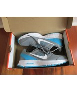 BNIB Nike Air relentless 5 Women's athletic shoes, cool grey/wht-blue, l... - $50.00