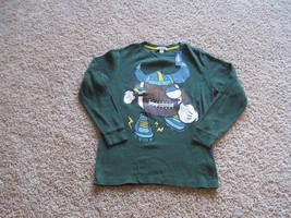 BNWT Old Navy boys waffle knit thermal layer t-shirt, M(8), Green, long ... - $3.59