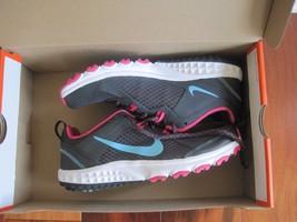 BNIB Nike Wild Trail Women's athletic shoes, Anthrct/Plrzd Bl/Vvd Pnk/White - $47.00