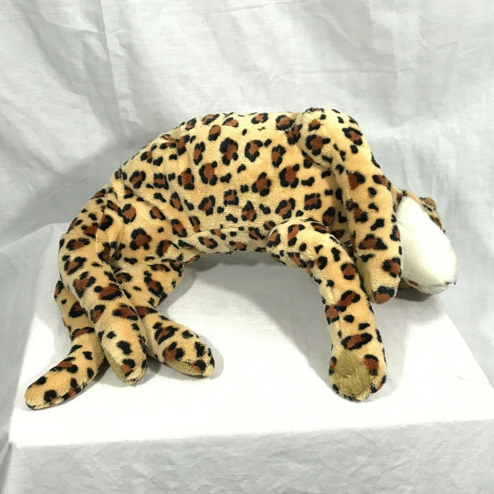 "Disney Animal Kingdom Parks Cheetah Stuffed Animal Plush Toy 14"""