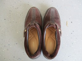 Naturalizer Womens slip on comfort shoes, size 6, brown, pre-owned, decent - $16.58 CAD