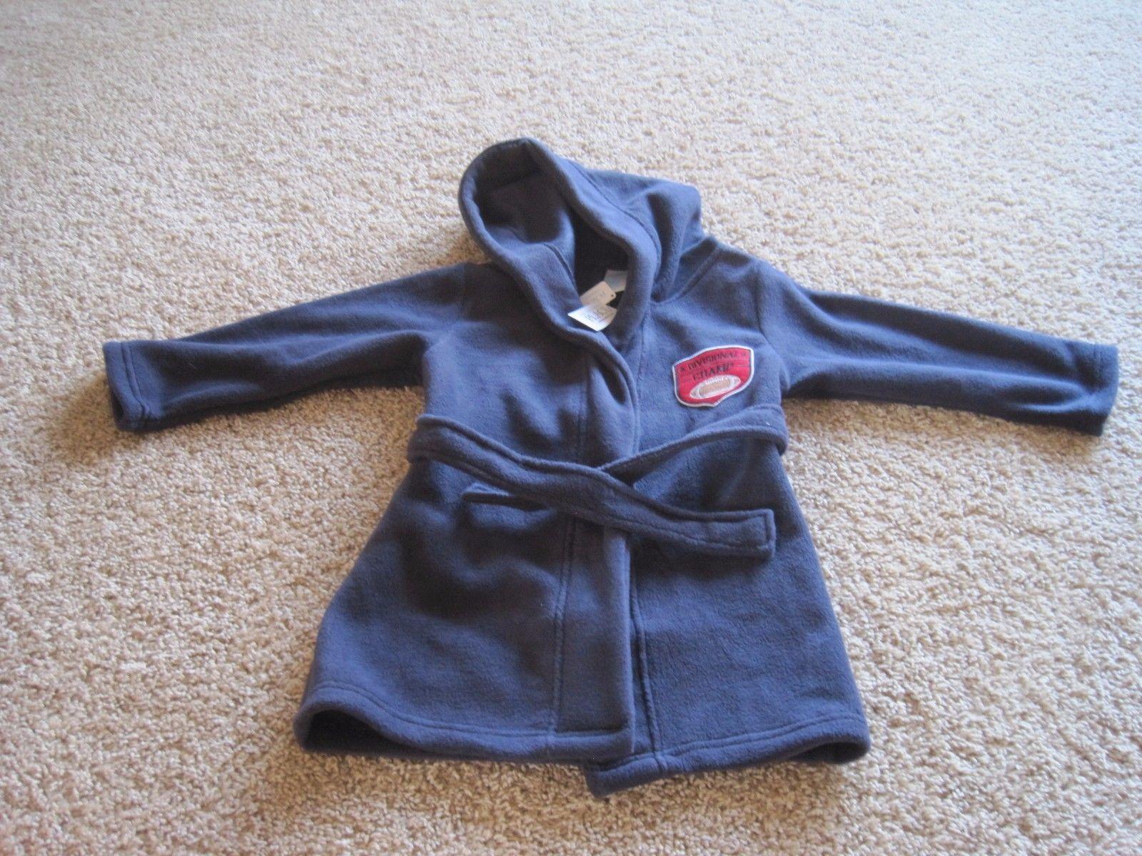 BNWT The Children's Place Long sleeve champ fleece robe, boys, hood, $29.95 - $19.00