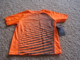 BNWT Everlast boys' active short sleeve t-shirt, size M(5/6), orange/gre... - $8.50
