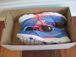 BNIB Skechers Women's Go Run Sonic Running Shoes, blue/hot pink, size 6, $74.99 - $38.92