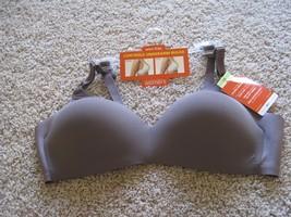 BNWT Warner's wire free women's padded bra, Size 38B, Mauve, Nylon/elast... - $15.35