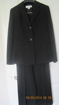 Career suit for women, 3-piece, black pin-strip... - $32.38