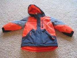 BNWT The Children's Place 3-in-1 boys jacket, XS(4), orange/grey/navy, $69.95 - $23.06