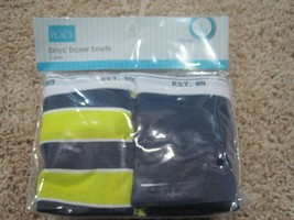 BNIP The Children's Place 2pk boy's 100% cotton boxer briefs, size L or XL - $10.75