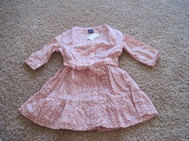 BNWT Gap Acorn tie-belt Girls dress potpourri pink, XS(4-5) Regular, 100... - $16.25