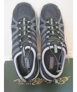 BNIB Eddie Bauer men's black shoes, 8M, with water drainage system & bun... - $27.70