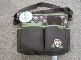 BNWT Baby diaper bag, baby boom 3pc brown, unisex - $20.00