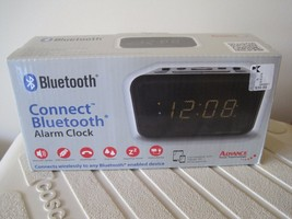 BNIP Advance Time Technology Bluetooth Connect Alarm Clock, PC/Tab/ph co... - $13.09