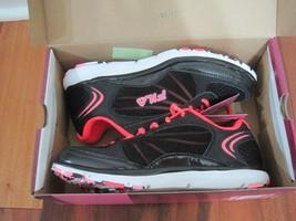 BNIB FILA® Memory Panache Women's Running Shoes, size 7, Black, $69.99 - $32.38