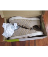 BNIB Adidas DAILY Men's fashion/athletic shoes, size, khaki, canvas uppe... - $37.05