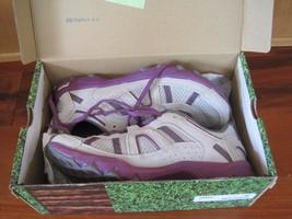 BNIB Fila (Zipline) women's athletic shoes, size 7, suede, grey/purple, ... - $27.70