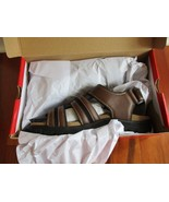 BNIB Izod Sun or Cat open toe men's sandals, brown, size 9M (Pls read), ... - $30.00