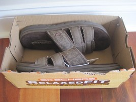 BNIB Skechers men's relaxed fit sandals, supreme glade, olvero or equipt... - $32.38